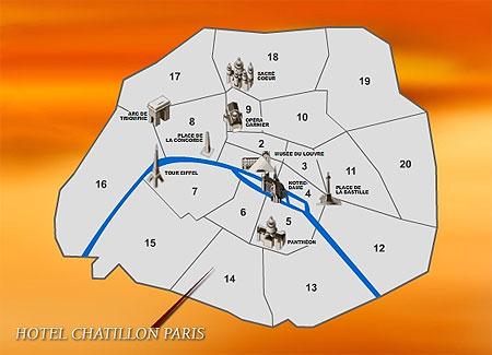 Hotel Vicino Chatillon